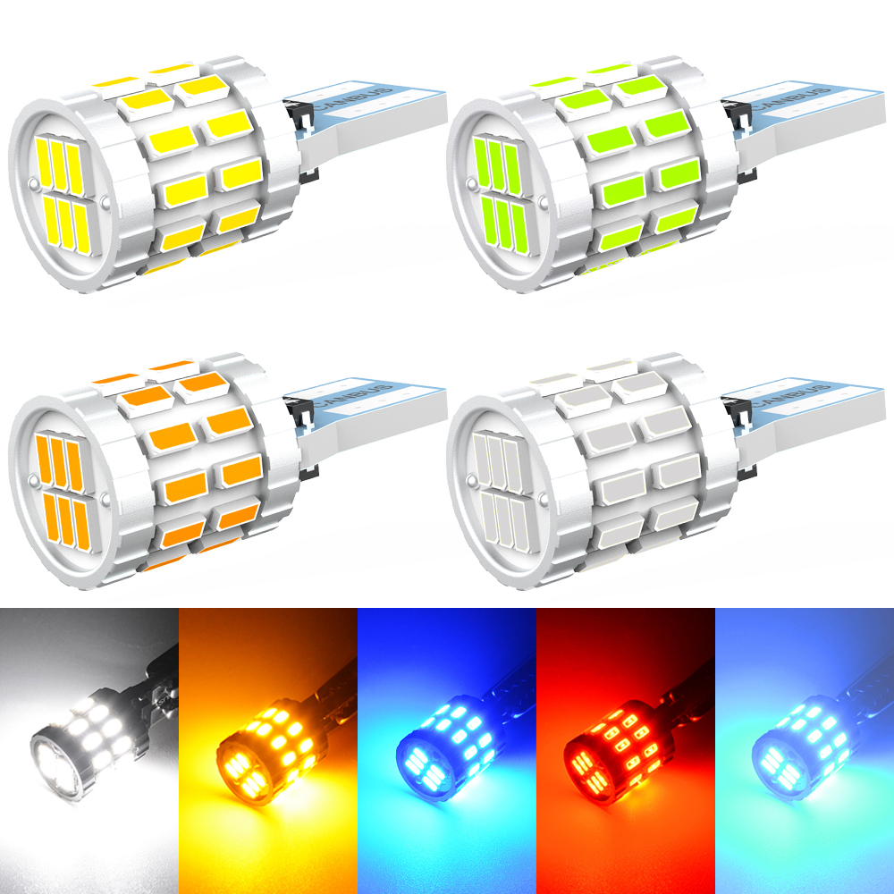 T10 w5w led canbus 194 168 lâmpada do carro luz de estacionamento para opel astra h g j insignia mokka toyota avensis rav4 ford focus 2 fiesta 3|Lâmpada de sinal|   -