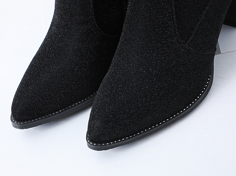 sobre o joelho botas de salto alto botas de salto alto