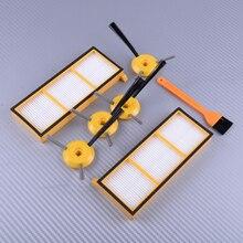 LETAOSK Side Brush Filter Spare Kit Plastic Fit for Shark ION Robot RV700 RV720 RV750 RV750C RV755