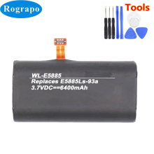 New Battery For Huawei E5885Ls 93a HCB18650 12 02 Wireless router Accumulator 3.7V 6400mAh Li ion Replacement Batterie+tools