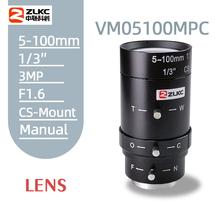 2 0Megapixel 5-100mm HD CCTV lens manual Iris Varifocal CS mount lens for ip cameras lens Low distortion FA lens cheap ZLKC Telephoto Lens Zoom Lens F1 6 2014 None Camcorders VM05100MPC
