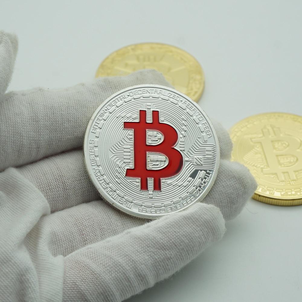 Ripple Bitcoin silver litecoin Coin Collectible Gift Casascius Bit Coin BTC Coin Art Collection Physical Commemorative Coin-4