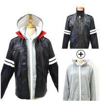 Прототип Alex Mercer костюмы Alex Mercer кожаные куртки Косплей игры аниме мужские кожаные куртки толстовки с капюшоном рубашка