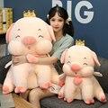 Милая ангельская свинка, кукла, мягкая игрушка в виде животных, мультяшная Толстая свинка, куклы, плюшевый диван, подушка для сна, девочка, ро...