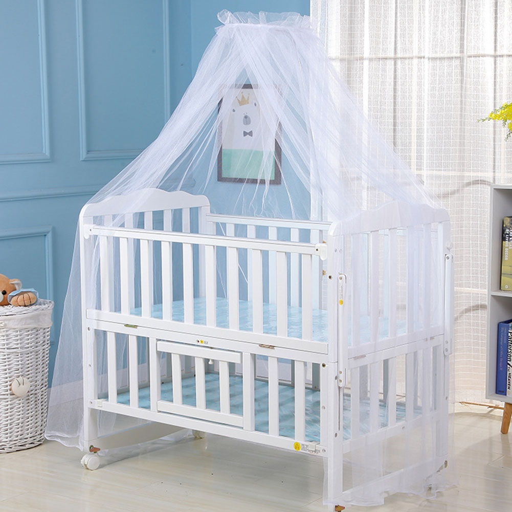 Dome Curtain Mosquito Net Mesh Bedroom Summer Decoration Newborn Safe Baby Bedding Fly Insect Protection Portable Kids Infant