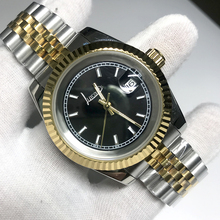2019 fashion Luxury Brand Watch 40mm black dial Automatic glide smooth second hand Silver Gold Black Datejust Watches AAA