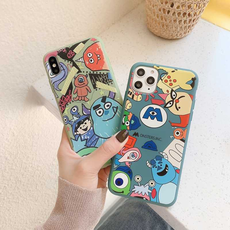 Case Op Voor Coque Iphone 11 Pro Xs Max Case Soft Tpu Back Cover Voor Iphone 6 6S 7 8 Plus X Xr Se 2020 Case Cover Telefoon Case Etui