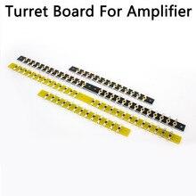 Diy projetos de áudio tag tira tag placa torreta placa 300(150)* 12*2mm 26 pinos ou 13 pinos de prata chapeado amplificador de cobre