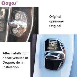 Image 5 - Ceyes Car Styling Auto Serratura di Portello Della Copertura di Caso Per Renault Scenic Laguna Captur Megane 2 3 Fluence Latitude Auto Sticker accessori