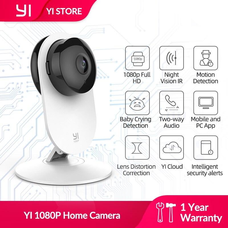 יי 1080p WIFI IP אלחוטי אבטחת בית מצלמה תינוק בוכה זיהוי חדשני עיצוב ראיית לילה מערכת מעקב הגלובלי