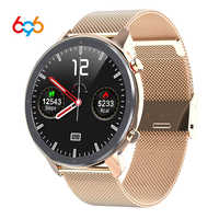 696 NJYL11 Smart Uhr Männer Frauen Herz Rate Monitor Armband Schlaf Blutdruck Fitness Tracker Wasserdicht Sport Quadrat Uhr