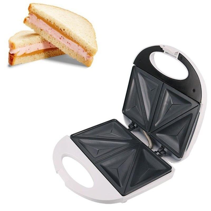 750 Вт электрическая Бутербродница, вафельница, автоматический гриль для торта, машина для быстрого приготовления завтрака, кухонный инструмент для дома, вилка стандарта Великобритании