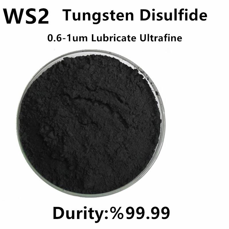 WS2 Powder Tungsten Disulfide Solid Lubricate Ultrafine High Temperature Wear Resistance 0.6-1um