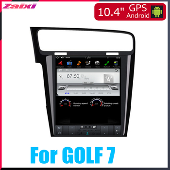 TBBCTEE Android Car Multimedia GPS For Volkswagen VW GOLF 7 2013~2019 Radio vertical screen tesla screen Radio Video USB DAB+