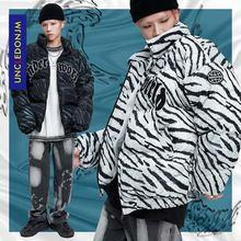 Uncledonjm 20aw теплая зимняя куртка для мужчин с полосатой