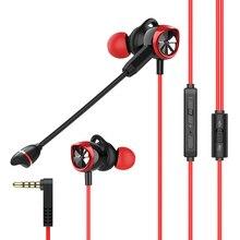 Langsdom g200x Phone gaming fones de ouvido com microfone ps4 fone de ouvido gamer fone de ouvido fone de ouvido para o telefone pubg xbox