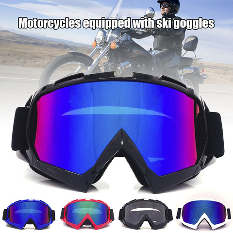 Óculos de Segurança à Prova de Vento Óculos de Proteção Moto Proteção Dustproof Esportes Resistente Thj99