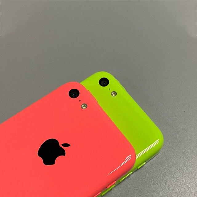Used iPhone 5c Original Unlocked Apple iPhone 5C IOS GPS WIFI Dual Core 4.0'' Display 8GB/16GB/32GB iphone5c Cellphone Free Gift 5