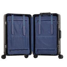 100% alumínio-magnésio 20/24/26/29 polegada rolando bagagem viagem de negócios mala de alumínio girador trolley saco na roda