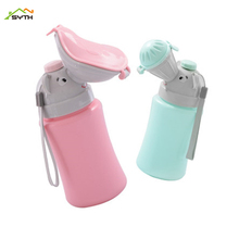 Childrens portable car urinal Baby night pot men and women style Peeing artifact