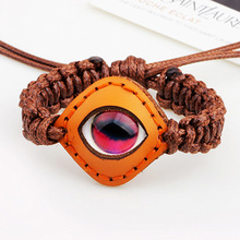 Origin of Europe and the United States foreign trade heart of marine life luminous stone eye bracelet leather jewelry wholesale the marine planning activities of united states ports