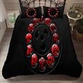 Комплект постельного белья heengili с 3D принтом Наруто  пододеяльник  простыня с наволочкой  набор домашнего белья # NT-03