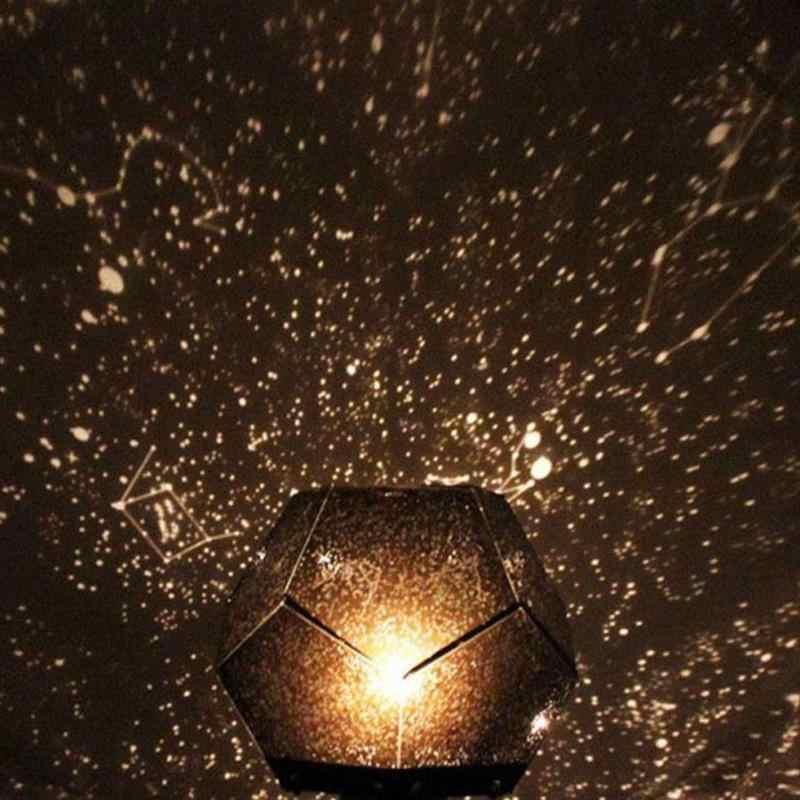 LED קסם אסטרו אור כוכבים גלקסי כוכב לילה אורות כוכב סקיי מאסטר מקרן לילה מנורת שולחן שינה המפלגה לקשט