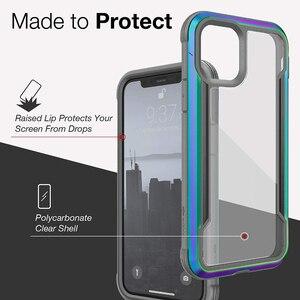 Image 3 - Túi Chống Sốc X Doria Quốc Phòng Che Chắn Ốp Lưng Điện Thoại Iphone 11 Pro Max Quân Sự Cấp Thả Thử Nghiệm Ốp Lưng iPhone 11 Pro Ốp Viền Nhôm