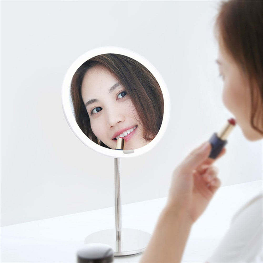 Image 4 - Yeelight LEDs Makeup Mirror Light Touching Control make up led vanity lights Night Light for Xiaomi Mirror With Light
