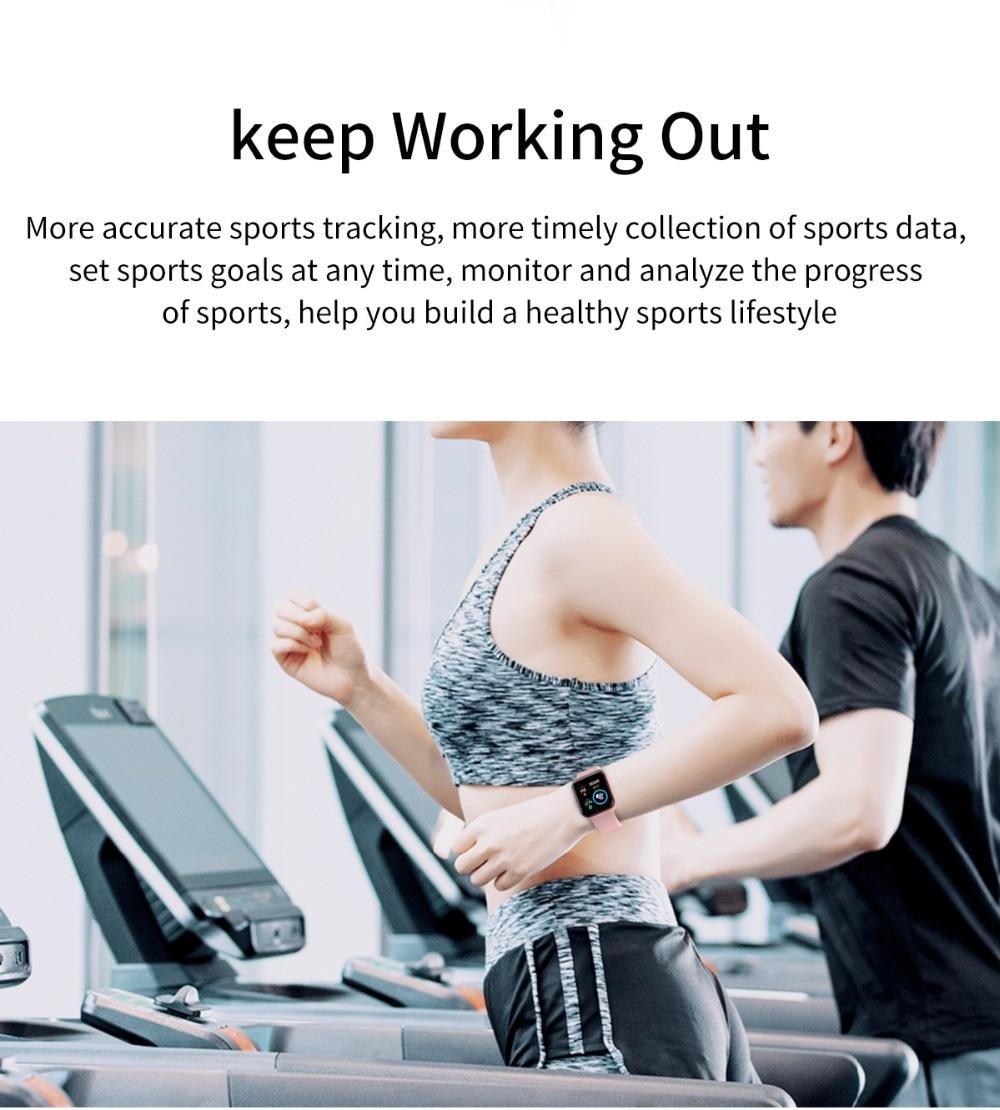 Arvin Smart Watch 2020 Heart Rate Fitness tracker Sport Smartwatch Men Women 5