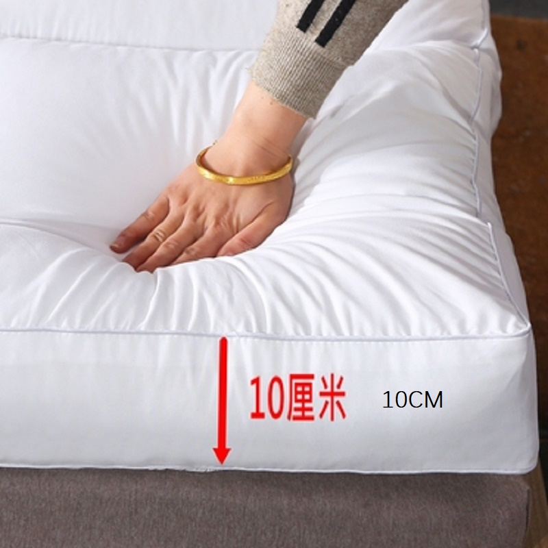 10cm Thickened Comfort Soft Mattress Portable Health Filler Thick  Folding  Warm Single Double Size Tatami
