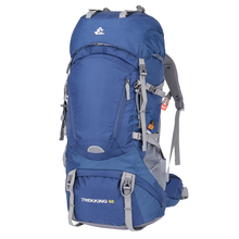 1 шт. 60L походный рюкзак водонепроницаемый прочный большой регулируемый ремень спортивный рюкзак для кемпинга путешествия альпинизма