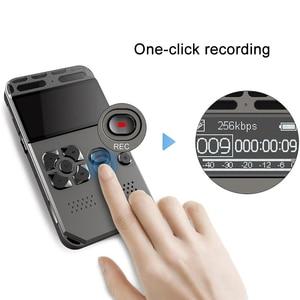 Image 2 - 8 gb recarregável lcd digital áudio som gravador de voz portátil ditaphone mp3 player sga998