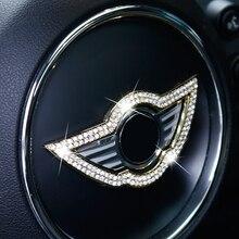 Car Steering Wheel Center decoration Sticker Interior Accessories For MINI Cooper S F60 F54 F55 F56 R60 R58 R56 R55 Car Styling цена 2017