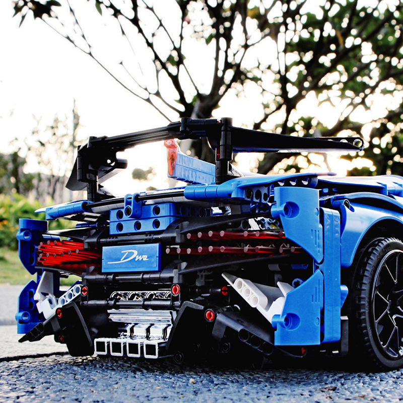 MOC Technic Car Series Supercar Model Compatible Legoinglys Technic Creator 42083 Building Blocks Toy For Boy Christmas Gifts