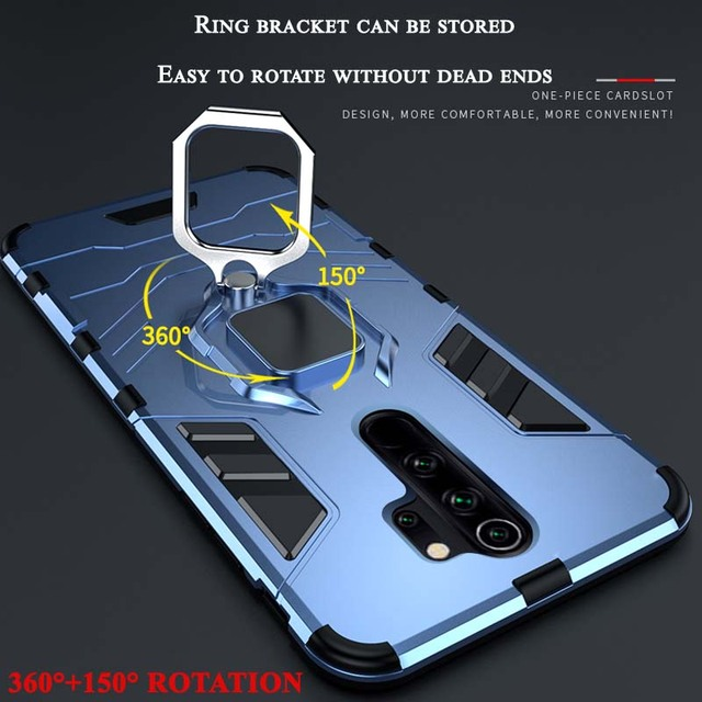 Case For Xiaomi Redmi Note 9s 9 8 7 6 Pro 5 Plus 4 4X 7A 8A 8T K20 K30 Mi A1 A2 A3 Lite Pocophone F1 9T Cover Armor Back Coque