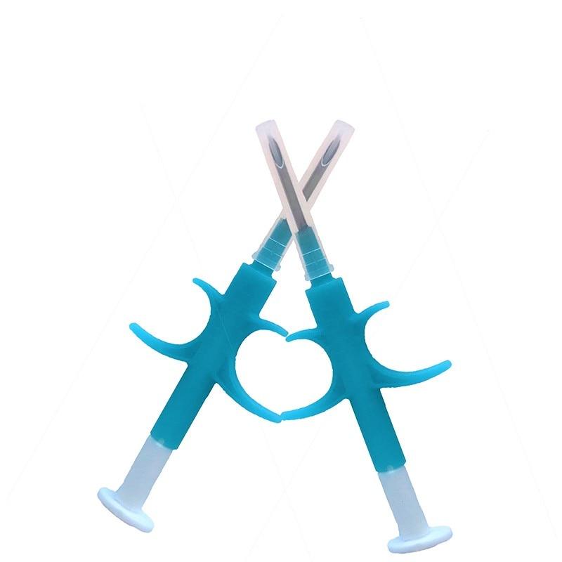 Free Shipping 134.2KHz ISO FDX-B Animal Dogs 1.4*8mm Pet Microchips Syringe Animal Id Implantable Syringe Injector
