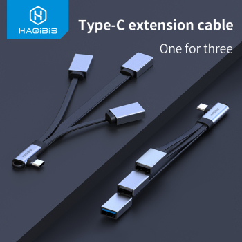 Hagibis USB C Cable OTG Adapter Type-c to USB 3.0/2.0 cable Male to USB Female U Disk converter for Samsung Xiaomi Huawei iPad micro usb female to type c 3 1 male cable adapter charge usb c converter for samsung s8 lg for huawei zte for letv for xiaomi