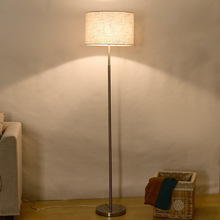 Retro Long High Floor Lamp Lampshade Corner Carpet Living Room Bedroom Bedside Minimalist Decor Home Indoor Lighting Led Fixture