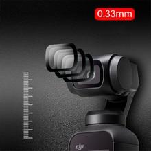 DJI OSMO Pocket Tempered film set Camera Tempered Protective Film OSMO Anti fingerprint Waterproof Clear Screen