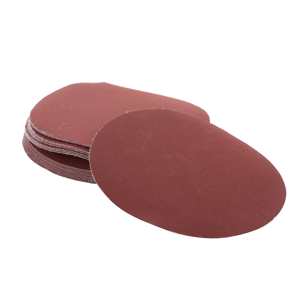 20pcs 6 Inch 150mm Round Sandpaper Disk Sand Sheets Grit 1000 For Choose Hook And Loop Sanding Disc For Sander Grits