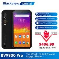 Blackview BV9900 프로 열 카메라 휴대 전화 Helio P90 Octa 코어 8 기가 바이트 128 기가 바이트 IP68 4G 견고한 스마트 폰 48MP 쿼드 후면 카메라