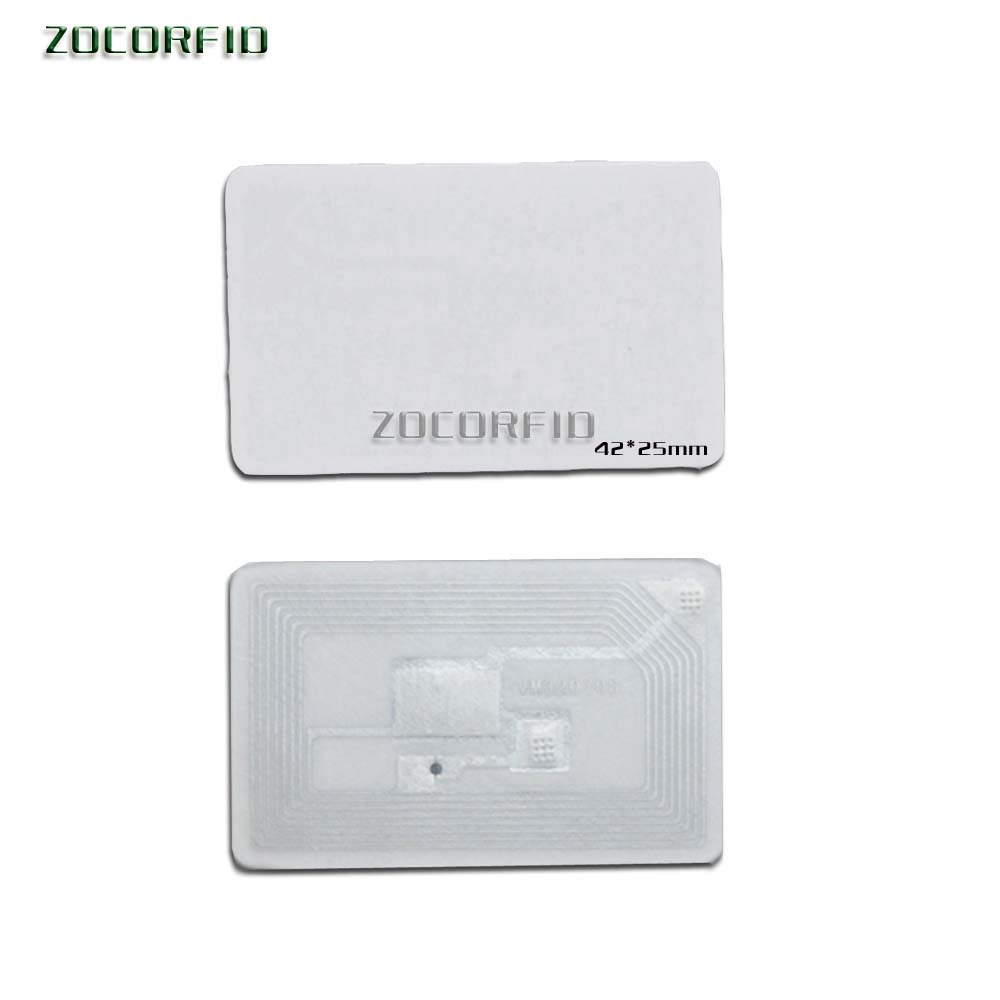 100pcs/lot 13.56 MHz ICODE-2 / HF Tags, Books Management Tag/stickers RFDI Tgas  / ISO -15693