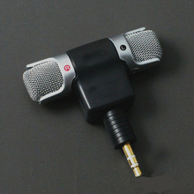 Mini 3.5mm Jack Microphone Stereo Mic For Recording Mobile Phone Studio Interview Microphone For smartphone PC Camera
