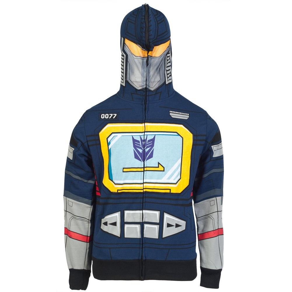 Transformers - Sound I Am Costume Zip Hoodie XL Navy  Men Women Hoodie Sweatshirt