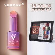 VINIMAY GEL Vernis กึ่งถาวร UV Soak Off Gellak Gelpolish เล็บเจลเคลือบเงา Primer เล็บเจล lacque