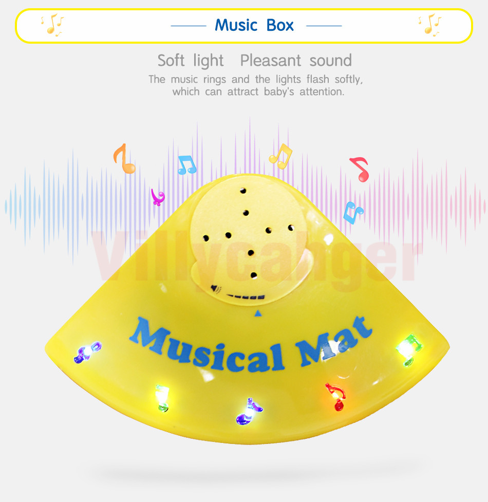 Hf9d63112a49f47f1bd0e21d35e84acafs 110x36cm Musical Piano Mat Baby Play Mat Toy Musical Instrument Mat Game Carpet Music Toys Educational Toys for Kids Xmas Gift