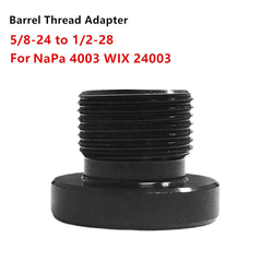 Car Single Core Car Fuel Filter Thread Adapter Convert 5/8-24 To 1/2-28 For 4003 WIX 24003 Fuel Filters Automobiles Filters