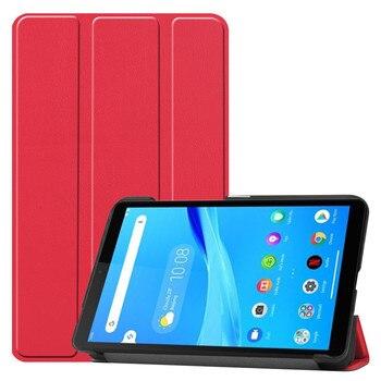 "Para Lenovo Tab M7 TB-7305F 7 ""TB-7305 7305 TabM7 7,0 pulgadas 2019 funda para Tablet Custer Fold soporte Funda de cuero"
