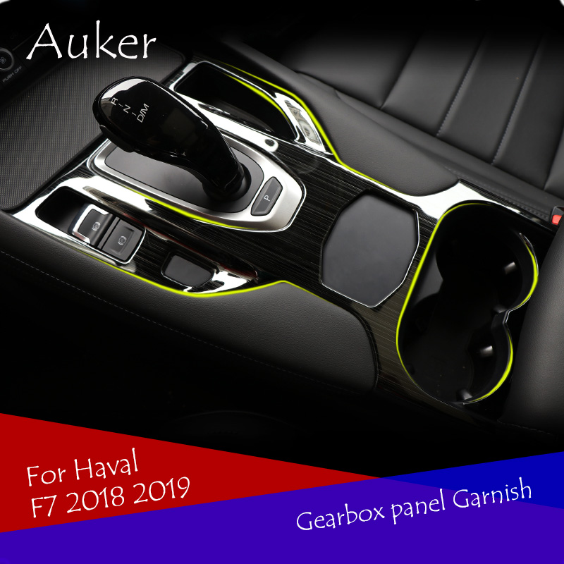 Sticker Haval Cover Strips Frame Trim-Decoration For Car-Console-Gearbox-Panel Car-Style